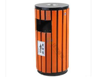 带烟缸圆柱形钢木小圆桶HT-GM6090,钢木,千赢国际登录,钢木,千赢国际登录,