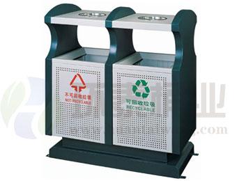 绿色分类冲孔钢制垃圾箱HT-GZ5160,冲孔,千赢国际登录,冲孔,千赢国际登录,