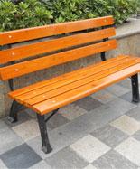靠背新款防腐木休闲椅HT-XXY346