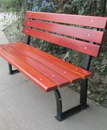 新款铸铁脚休闲椅公园景区HT-XXY345