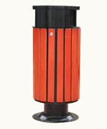 双侧投口圆形坐地带盖钢木千赢国际登录HT-GM6150