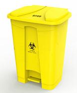 48L医疗脚踏黄色塑料千赢国际登录HT-SL3740