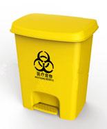 医疗脚踏25L黄色塑料千赢国际登录HT-SL3820