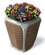 室内办公室花箱花盆HT-WHX090