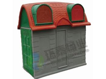 户外分类玻璃钢垃圾屋HT-SL2470,户外,分类,玻璃钢,垃圾,