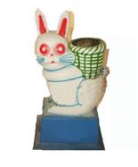 卡通兔子玻璃钢千赢国际登录HT-BLG2520