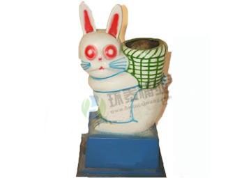 卡通兔子玻璃钢千赢国际登录HT-BLG2520,卡通,兔子,玻璃钢,千赢国际登录,HT-BLG2520,