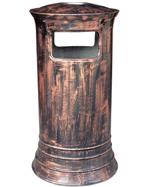 古铜色圆形玻璃钢千赢国际登录HT-BLG2070