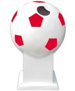 足球造型玻璃钢千赢国际登录HT-BLG2140