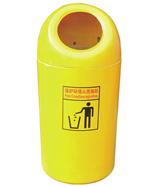 黄色玻璃钢圆形千赢国际登录HT-BLG2190