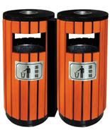 圆形双桶分类钢木千赢国际登录HT-GM6030