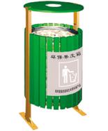 带烟灰缸环保型垃圾箱HT-HB416