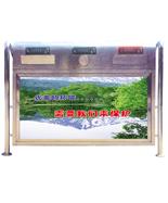 分类不锈钢户外垃圾箱HT-BXG601