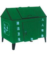 钢制脚踏式垃圾屋HT-LJW619