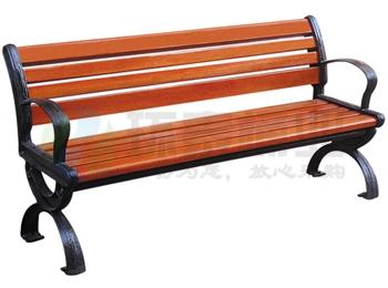 户外带靠背铸铁椅脚园林休闲椅HT-XXY320,休闲椅,休闲椅,