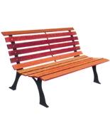 户外环保塑木休闲园林椅HT-XXY330